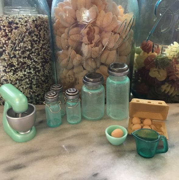 Miniature Mason Jars