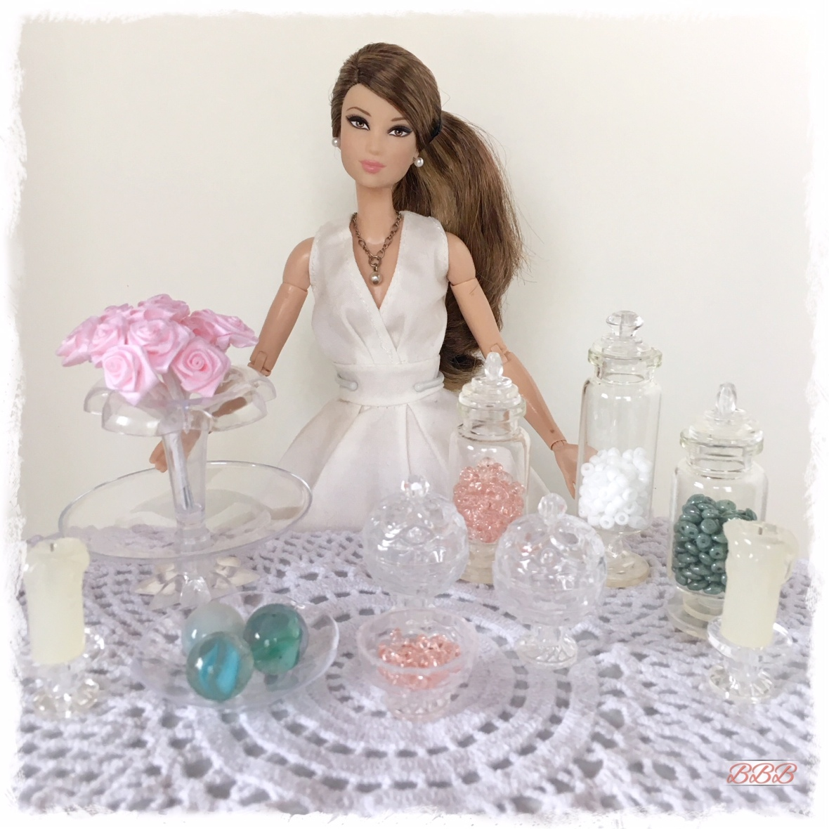 DIY Glassware for Dolls